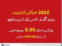 Daily Unlimited Mobile Internet By Mobilink
