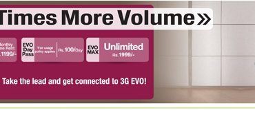 PTCL EVO 3G New Latest Prepaid & Postpaid Packages 2013