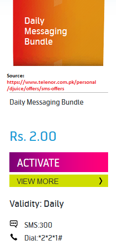 For a day offer