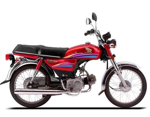 New Honda CD 70 Motorcycle 2012