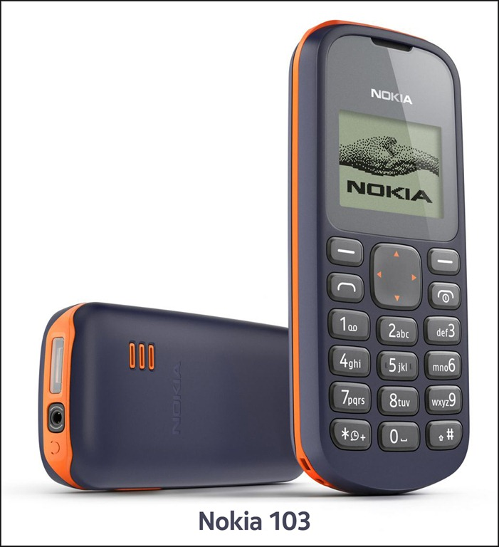Nokia Launches Nokia 103 for Rs. 1500 In Pakistan