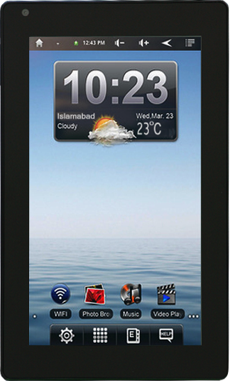 Takhti 7 Pakistani Android Tablet Features and Price