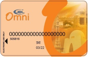 UBL Omni ATM Cards For Mobile Accou