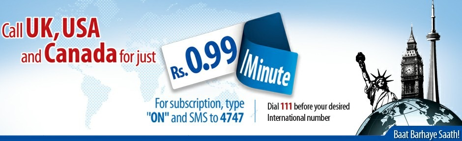 Warid Low Call Rates For UK, USA and Canada Offer