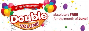 Wi-tribe Double Volume Offers On Its 3rd Anniversary