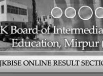 BISE AJK Mirpur Board Matric,10th Class Result 2012