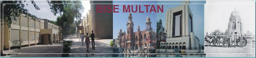 multan Board 9th Class Result 2012 announced