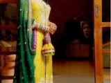 Bridal Mehndi Dresses 2018