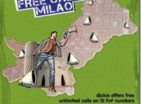 Djuice Karachi Offer: Free Calling on FnF Numbers
