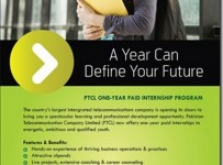 PTCL Internship Program 2012 Paid Online Registration 001