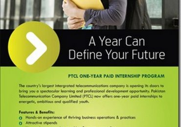 PTCL Internship Program 2013 Paid Online Registration