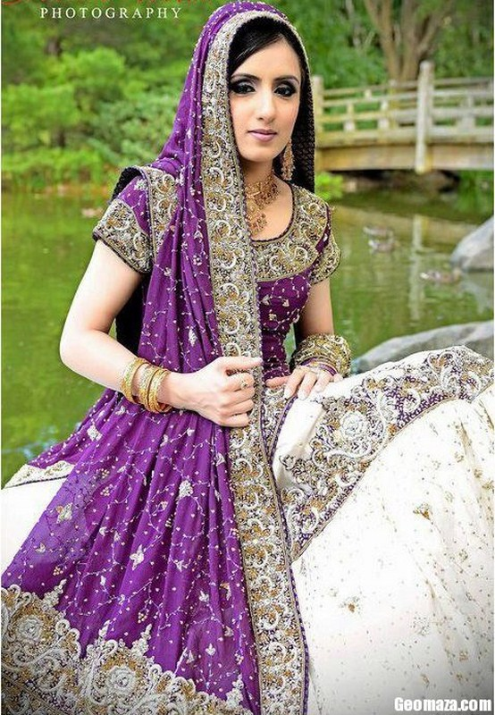 Purple Lehenga Choli Archive