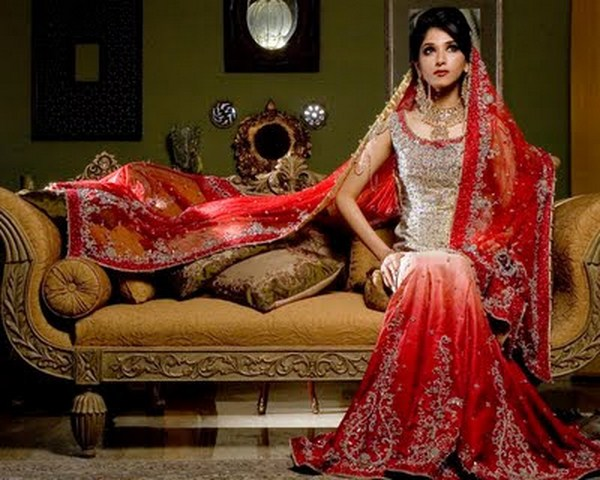 latest pakistani indian best wedding dresses collection
