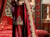 red pakistani wedding dresses