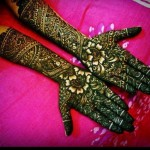 Pakistani Bridal Mehndi Designs 2012 0011