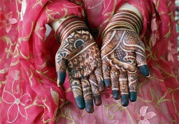 latest pakistani bridal mehndi designs