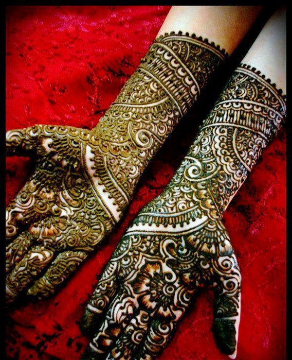 Mehndi Designs: Pakistani Bridal Mehndi Designs