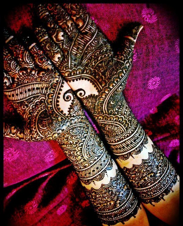 Pakistani Bridal Mehndi Designs 2018