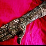 Pakistani Bridal Mehndi Designs 2012 007
