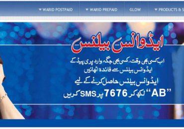 Warid brings Power Pack,SMS Bundles,Advance Balance & Ghanta Offer
