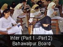 BISE Bahawalpur Board Inter Part I Result 2012 001