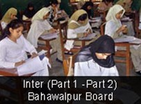 BISE Bahawalpur Board Inter Part I Result 2012 001