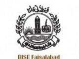 BISE Faisalabad Board Inter Part I Result 2014