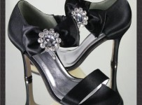 Black Wedding Shoes For Brides 001