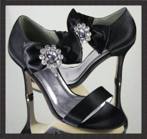 Black Wedding Shoes For Brides
