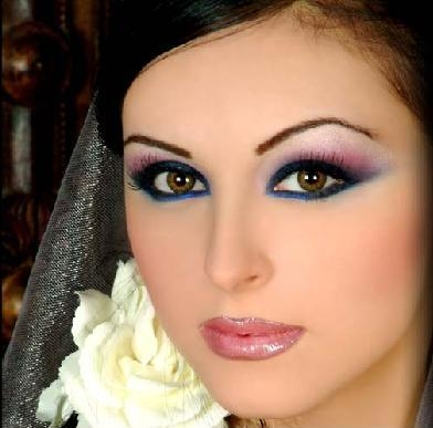 Bridal Dress on Bridal Eye Makeup Ideas Bridal Eye Makeup Ideas 001     He Com Pk