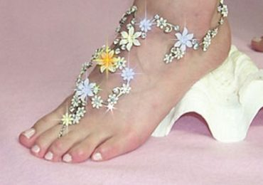 Latest Styles Of Bridal Anklets