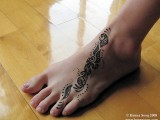Mehndi Designs For Feet