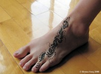 Mehndi Designs For Feet 001