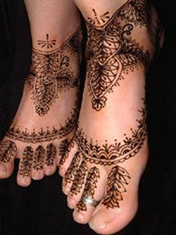 Mehndi Designs For Feet Simple : Mehndi designs for feet