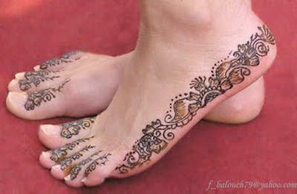 Simple Mehndi Designs For Hands Feet And Fingers