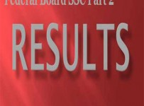 Federal Board Inter Part 2 Result 2012 announced