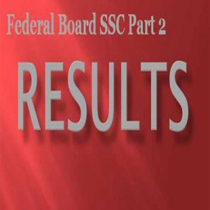 BISE Federal Board Inter Part 2 Result 2012