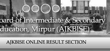 BISE AJK Board Inter Part 2 Result 2014 Will announced Soon