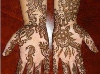 Flower Mehndi Designs For Hands 001