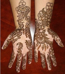 Flower Mehndi Designs For Hands