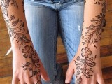 Flower Mehndi Designs For Hands 0011