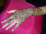 Flower Mehndi Designs For Hands 0012