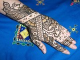 Flower Mehndi Designs For Hands 0013