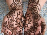 Flower Mehndi Designs For Hands 002