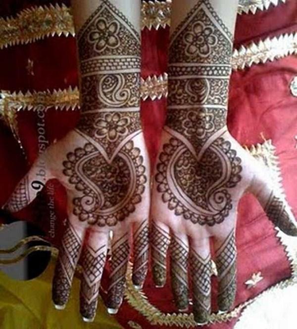 Mehndi Flower Accessories : Flower mehndi designs for hands