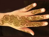Flower Mehndi Designs For Hands 007