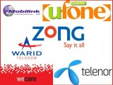 How to check Balance of Telenor Jazz Ufone Zong Warid