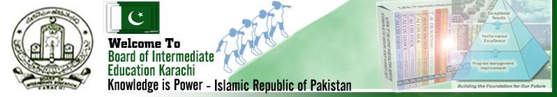 Karachi Board  Result 2014