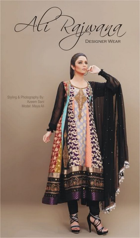 Latest Frocks Fashion And Style In Pakistan