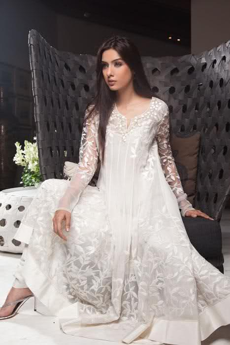Latest Frocks Fashion And Style In Pakistan 006